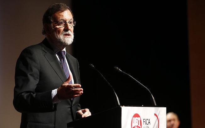 El presidente del Gobierno, Mariano Rajoy, interviene en la clausura de las jornadas