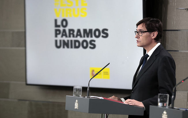 Salvador Illa, ministro de Sanidad. Foto: Pool Moncloa www.lamoncloa.gob.es