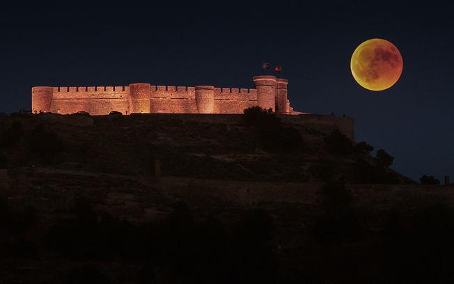 Mándanos tu foto de la luna roja