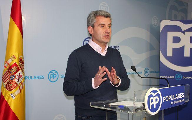 El vicesecretario de Organización del PP de Guadalajara Alfonso Esteban.