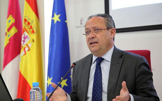 Juan Alfonso Ruiz Molina, consejero de Hacienda y Administraciones Públicas. (Foto: Álvaro Ruiz // JCCM).