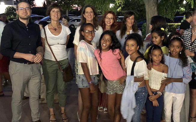 Acto despedida niños y niñas participantes en el Programa Vacaciones en Paz.