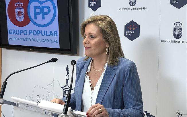 Aurora Galisteo, viceportavoz del Grupo Municipal Popular del Ayuntamiento de Ciudad Real.
