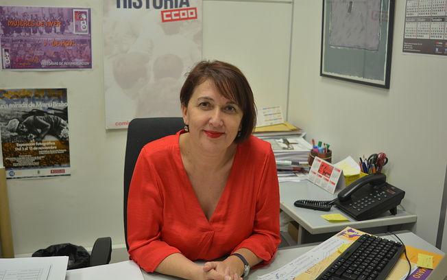 Paqui Jiménez, secretaria de Empleo y Formación CCOO-AB.