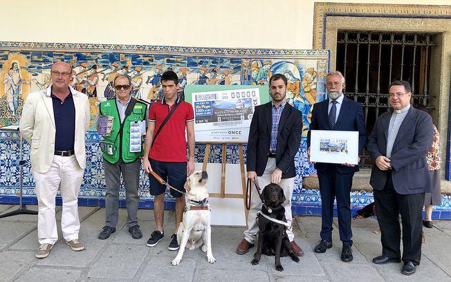 La ONCE promociona Talavera y su cerámica con la venta de 5,5 millones de cupones