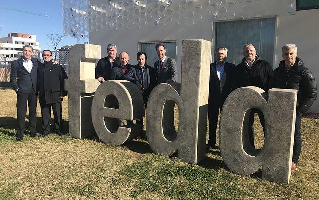 El Albacete Balompié retoma con FEDA líneas de colaboración para con el mundo de la empresa, ofrecida por FEDA