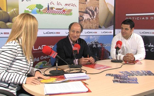 Aurelio Ruiz, director gerente de Alba Rain Riegos, y Ramón Gutiérrez, ingeniero agrónomo en Bombas Wilo.