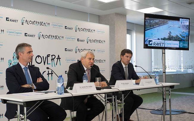Grupo Rayet desarrollará la primera playa urbana de Europa, a 40 minutos de la Capital