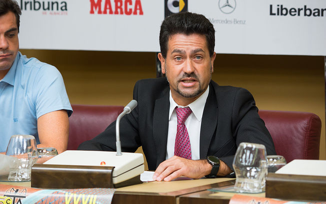 Francisco López, director del Club de Tenis Albacete