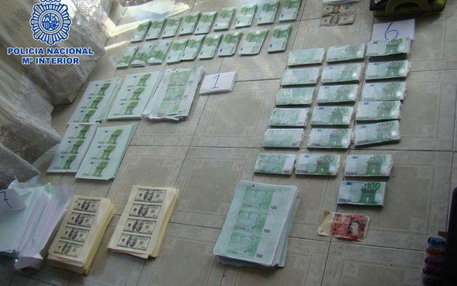 Desmantelados en bogot colombia dos laboratorios de producci n de billetes falsos de euro - Lntoreor dijin ...