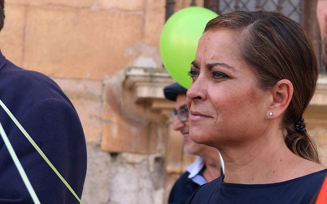 Olga Villanueva Muñoz , vicepresidenta 2ª Diputación de Guadalajara y responsable del Área de Bienestar Social.
