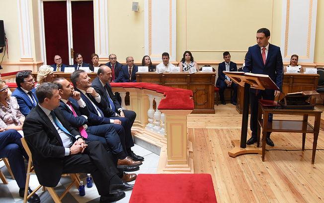 Constitución de la nueva Corporación de la Diputación de Cuenca. (Fotos: José Ramón Márquez // JCCM)