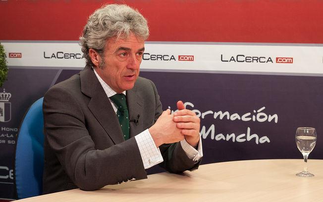 Leandro Esteban, consejero de Presidencia y Administraciones Públicas y portavoz del Gobierno de Castilla-la Mancha