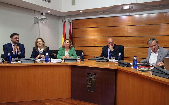 La consejera de Educación, Cultura y Deportes, Rosa Ana Rodríguez