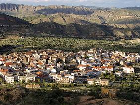 Localidad de Férez, en la provincia de Albacete.